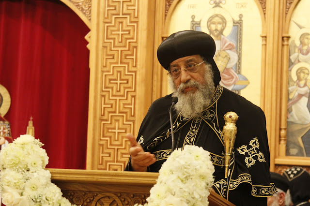 His Holiness Pope Tawadros II visit to St. Mark LA - _MG_0619.JPG