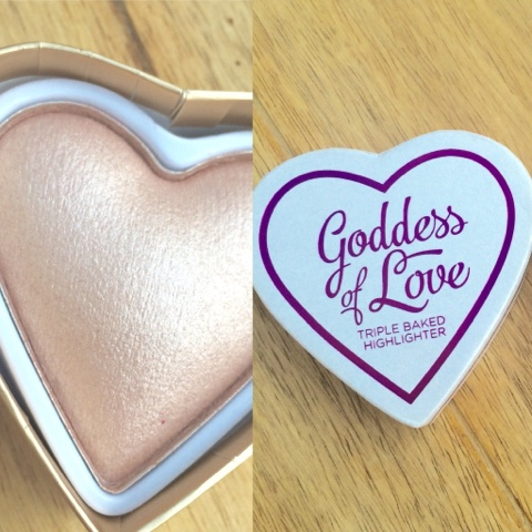 MAKEUP REVOLUTION: Goddess of Faith - Triple Baked Highlighter