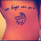 Never forget who you are - tattoos quotes - tattoo designs