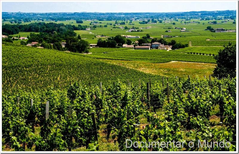 Saint Émilion, vinhas Saint Émilion, paisagem Saint Émilion, chateaux Saint Émilion
