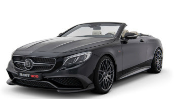 BRABUS unveils the fastest and most powerful 4-seater convertible