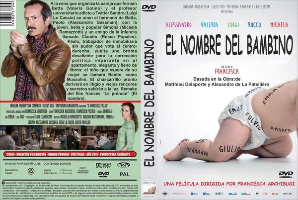 El Nombre Del Bambino – Castellano DVD9