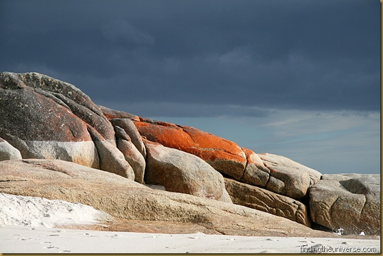 Rocks at the Bay of Fires