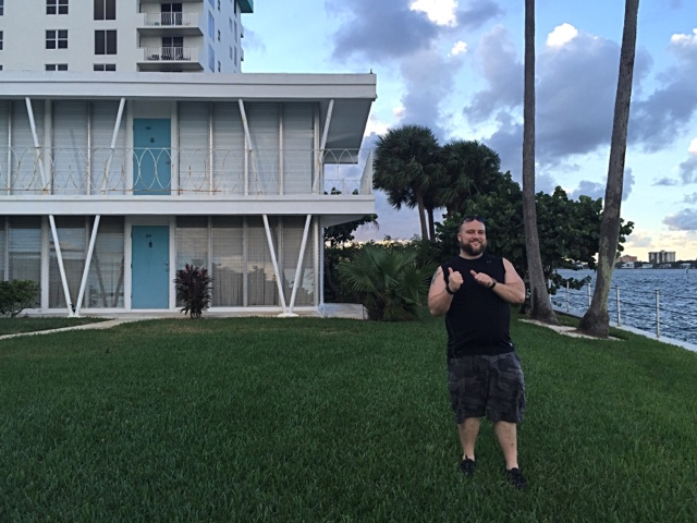 On Visiting Dexters Apartment in Miami Beach  Epiphany in Baltimore