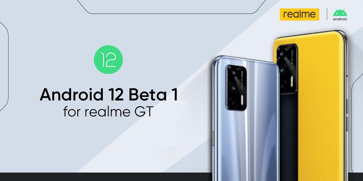 realme ประกาศการเป็นหนึ่งในแบรนด์สมาร์ทโฟนที่รองรับ Andriod 12 Beta 1 รุ่นแรกของโลก พร้อมใช้งานบน realme GT ภายในเดือนพฤษภาคมนี้