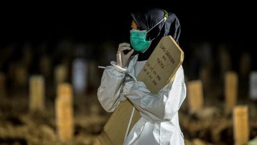 Kematian Nakes di Indonesia karena Covid-19 Tertinggi di Asia, Ketiga Dunia