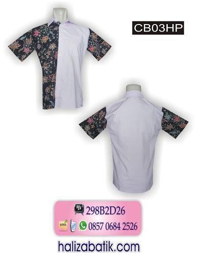 Model Baju Batik Terbaru, Model Baju Terkini, Baju Batik Pria, CB03HP