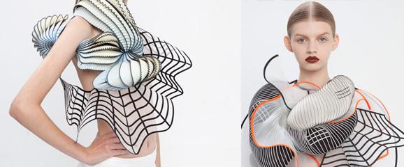 Coleção de roupa cria ilusão de ótica