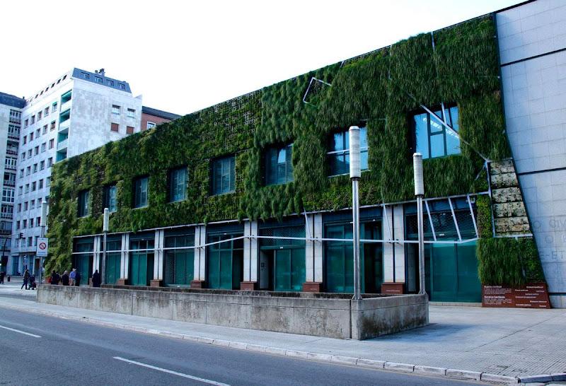 jardín vertical Vitoria-Gasteiz - Vista lado Sur Este