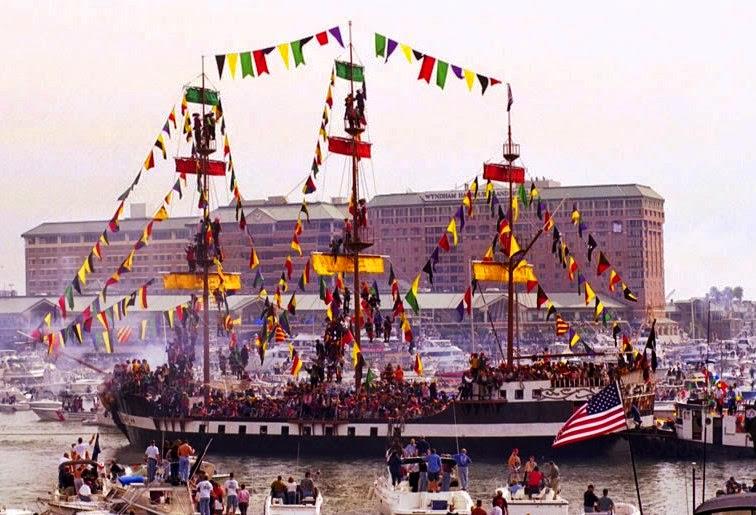 Pirate ship Gasparilla
