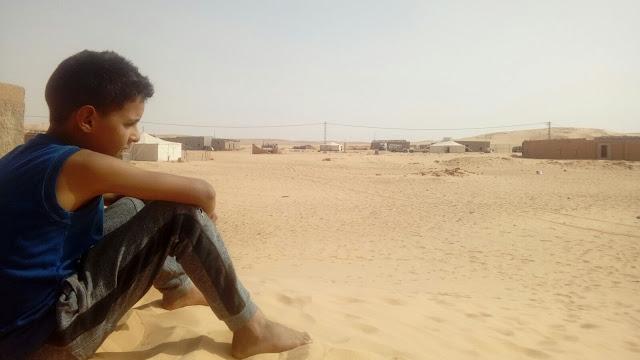 Resultado de imagen de niño saharaui ECS