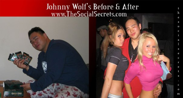 My Before And After Picture, Johnny Wolf