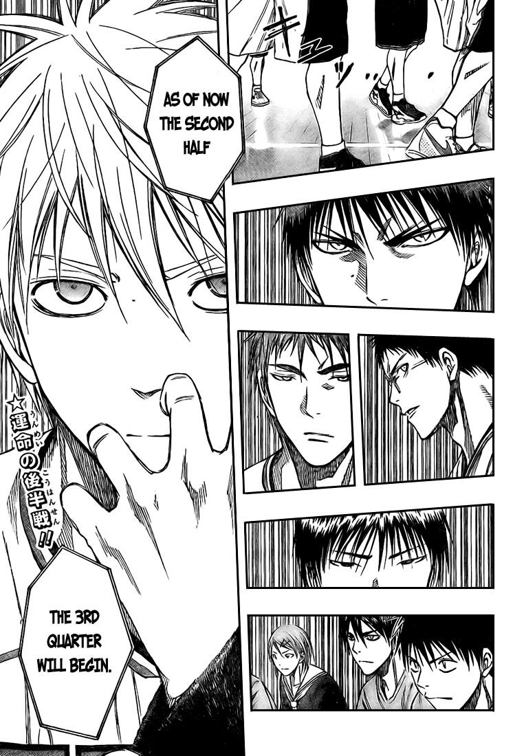 Kuroko no Basket Manga Chapter 124 - Image 19