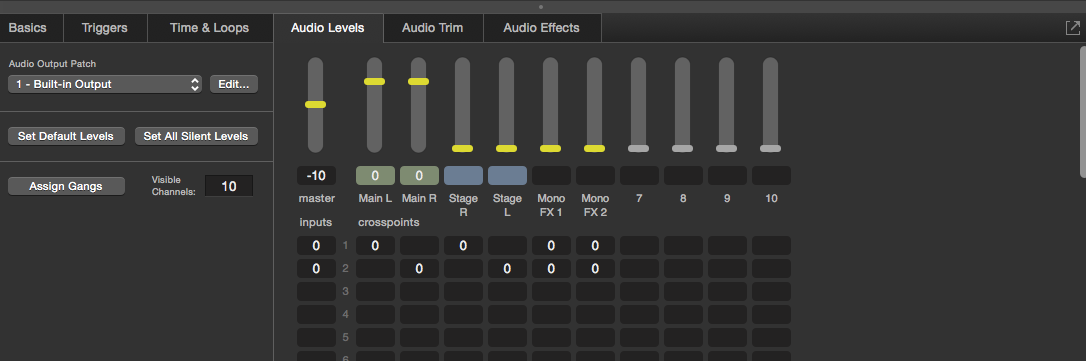 What is the easiest way to make an audio cross fade? - Google Groups