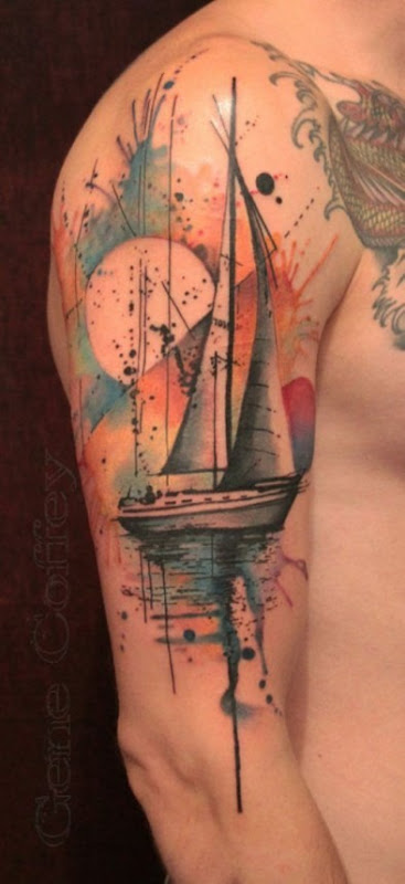 nutico_aquarela_de_tatuagem_para_homens