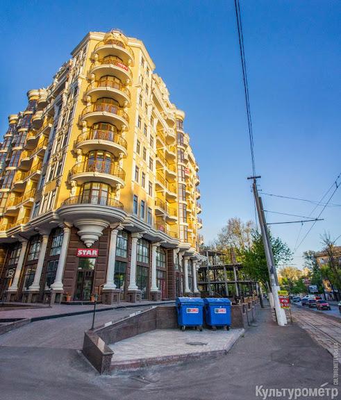 DSC08373%2BPanorama Одесса: пешеходов заставили ходить по трамвайным рельсам