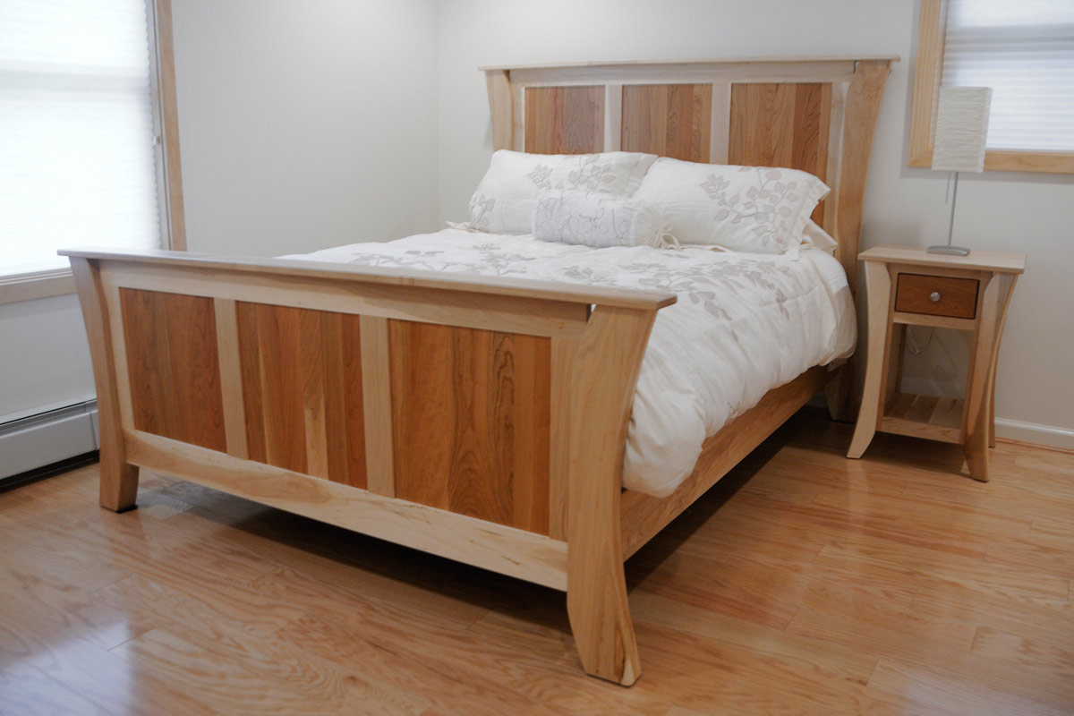 Kyoto Bed Frames | Solid Wood Bed Frame in the Kyoto Style