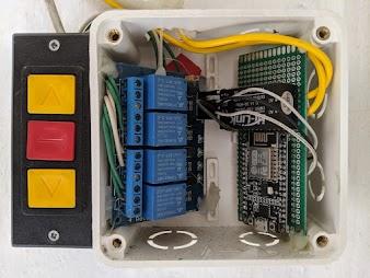 Chia sẻ Mạch ESP8266 điều khiển cửa cuốn thông qua Blynk