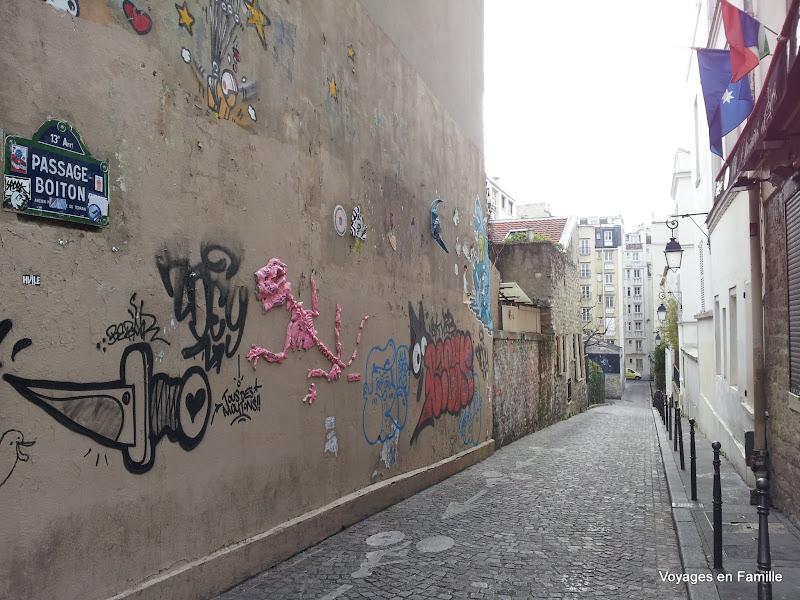 Street art Butte aux cailles