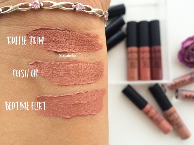 NYX Lip Lingerie NC40 swatches swatch