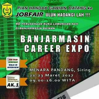 fakta menarik mengenai job fair banjarmasin career expo 2017