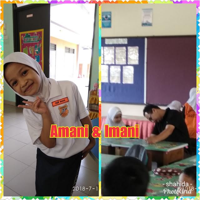 Ambil Kad Loparan Amani & Imani