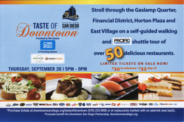 Taste of Downtown Giveaway