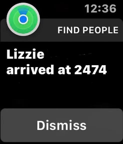 مشاركة الموقع Ios Apple Watch2