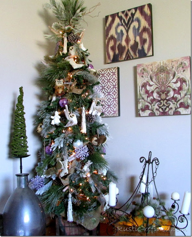 How to decorate a christmas tree like a designer.