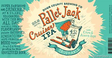 Door County Brewing Pallet Jack Cruiser Ipa Mybeerbuzz
