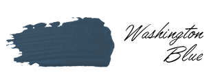 Washington Blue Benjamin Moore Paint Color Swatch