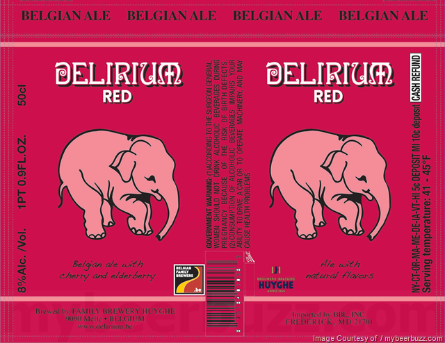 Delirium Red Cans Coming To The U.S.