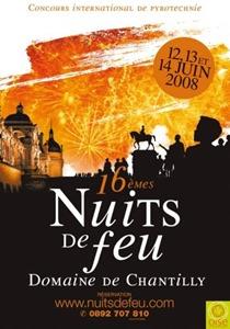 Nuits de feu Chantilly 2008