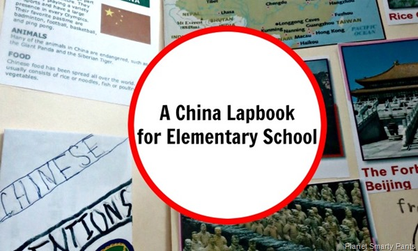 A China Lapbook for Elementary School