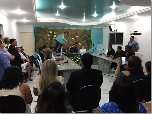 Eleição da Mesa Diretora em Ielmo Marinho - Foto Assessoria
