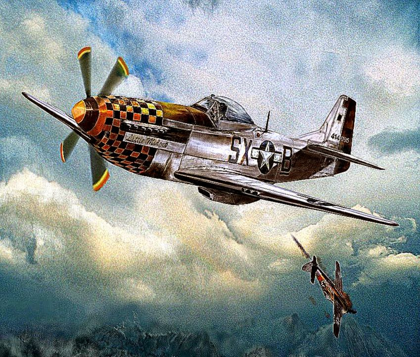 P51 Mustang Flight Aircraft Hd Wallpaper