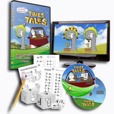 teach kids multiplication with times tales dvd