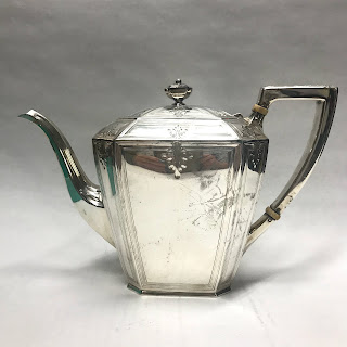 Sterling Silver 2 3/4 Pint Teapot