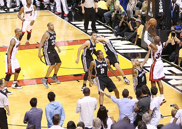 Ray Allen s AMAZING game-tying 3-pointer in Game 6  VIDEO Ray Allen Shoes 2013 Finals