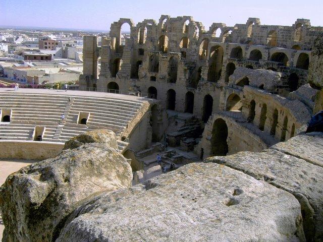 Римский Колизей в Эль-Джем