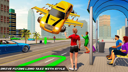 Big City Limo Car Driving Simulator : Taxi Driving 3.8 screenshots 10