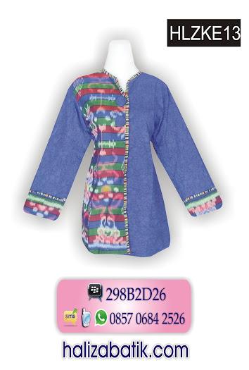 grosir batik pekalongan, Model Busana,, Baju Batik Terbaru, Gambar Baju Batik