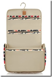 Orla Kiely Hanging Wash Bag