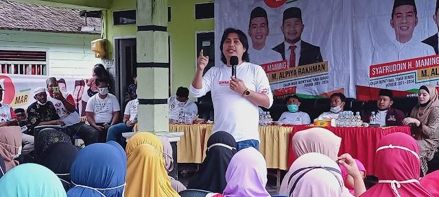 Yakinkan Warga Pilih SHM-MAR, Gondrong Berprestasi Kembali Berkampanye