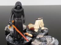 Kylo Ren vs Jedi diorama
