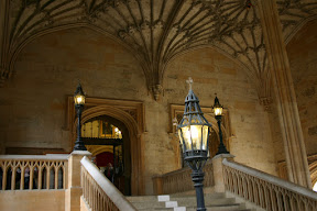 Staircase to Christ Church Hall, Oxford