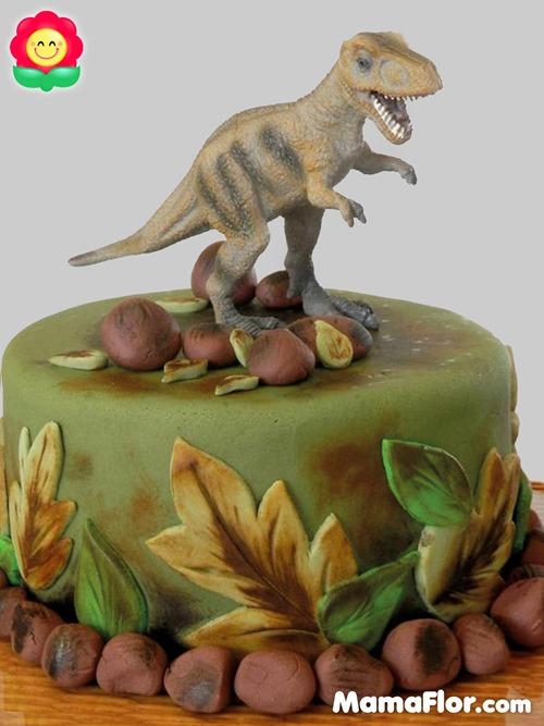 pastel de dinosaurios - 04