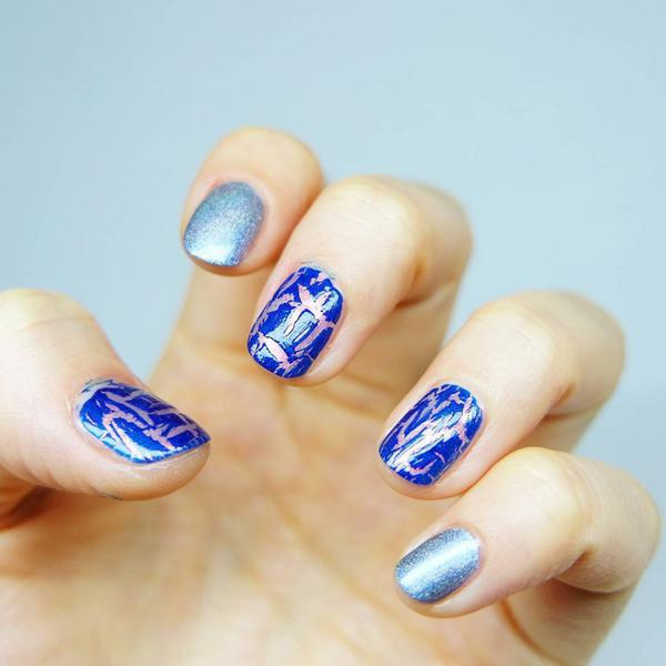 Cute Crackle Nail Designs And Ideas 2017 Styles Art