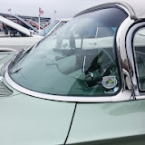 You don't see windshields like this anymore.