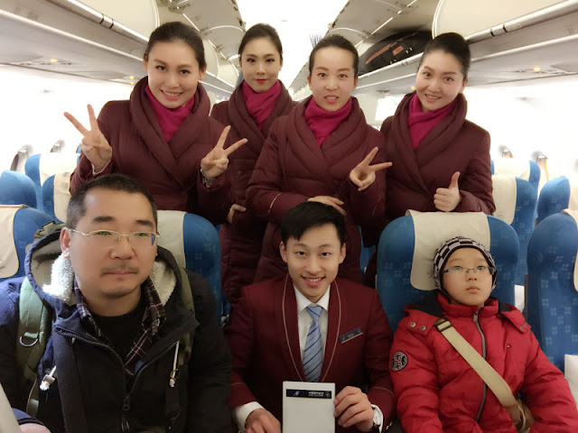 upon request, pose for a gathering shot with flight crew.